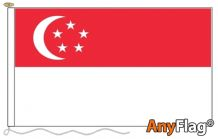 SINGAPORE ANYFLAG RANGE - VARIOUS SIZES